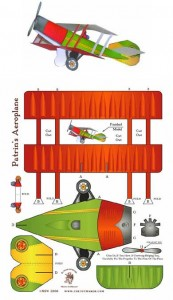 The Toymaker - Flygplan